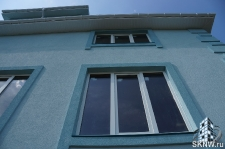 Фасадная штукатурка каркасного дома на минеральную вату_10