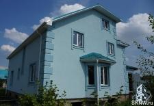 Фасадная штукатурка каркасного дома на минеральную вату_14
