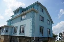 Фасадная штукатурка каркасного дома на минеральную вату_9