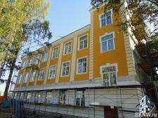 Реноация фасада декоративной штукатуркой ATLAS и архитектурными элементами_16