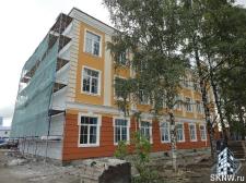 Реноация фасада декоративной штукатуркой ATLAS и архитектурными элементами_20