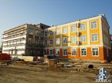 Реноация фасада декоративной штукатуркой ATLAS и архитектурными элементами_22