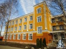 Реноация фасада декоративной штукатуркой ATLAS и архитектурными элементами_32