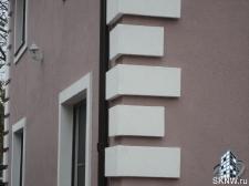 Декоративная штукатурка Caparol, утепление базальтовой ватой Paroc